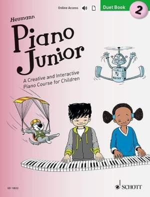 Heumann, H: Piano Junior: Duet Book 2 Vol. 2