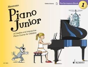 Heumann, H: Piano Junior: Performance Book 1 Vol. 1