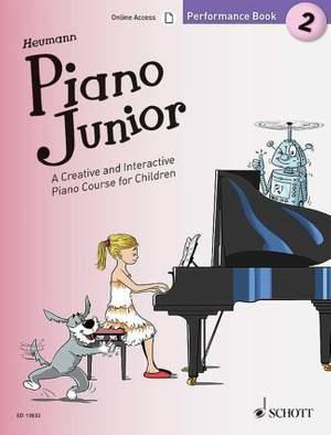 Heumann, H: Piano Junior: Performance Book 2 Vol. 2