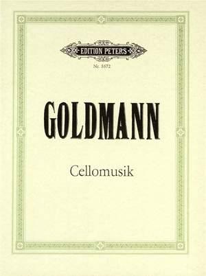Goldmann, Friedrich: Cellomusik (1974)