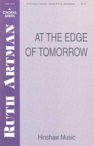 Ruth Artman: At The Edge Of Tomorrow Product Image