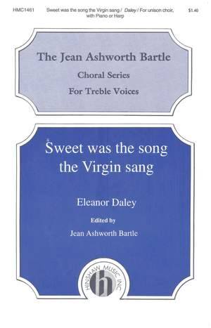 Eleanor Daley: Sweet Was The Song