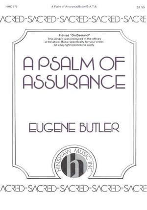 Eugene Butler: A Psalm Of Assurance