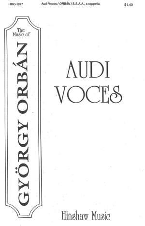 György Orbán: Audi Voces
