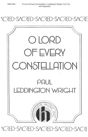 Paul Leddington Wright: O Lord Of Every Constellation Product Image