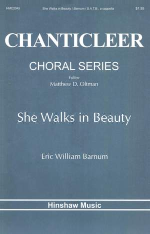 Eric William Barnum: She Walks In Beauty Product Image
