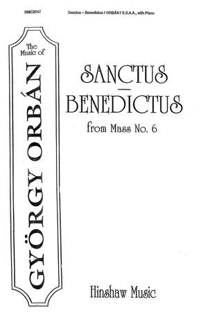 György Orbán: Sanctus-Benedictus (From Mass #6)