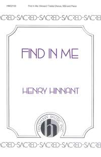 Henry Hinnant: Find In Me