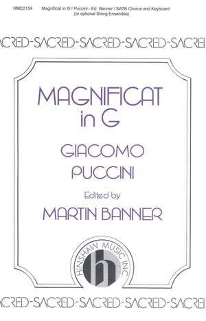 Giacomo Puccini: Magnificat In G