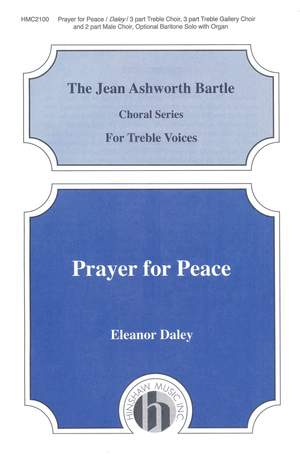 Eleanor Daley: Prayer For Peace