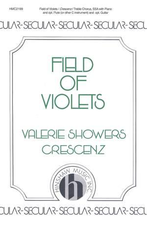 Valerie J. Crescenz: Field Of Violets
