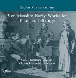 Mendelssohn: Early Works for Piano & Strings Product Image