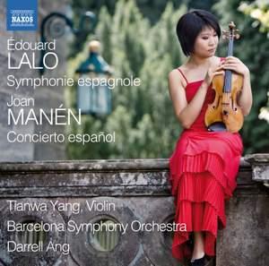 Lalo: Symphonie espagnole & Manén: Violin Concerto No. 1