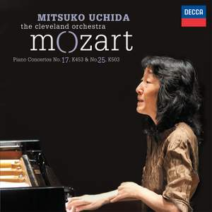 Mozart: Piano Concertos Nos. 17 & 25 Product Image