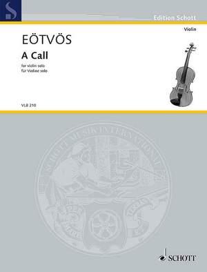 Eötvös, P: A Call