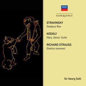 Stravinsky: Oedipus Rex