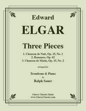 Edward Elgar: Three Pieces for Trombone & Piano
