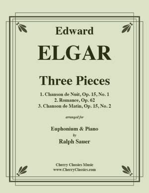 Edward Elgar: Three Pieces for Euphonium & Piano