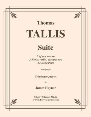 Thomas Tallis: Thomas Tallis Suite for Trombone Quartet