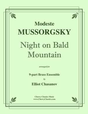 Modest Mussorgsky: Night on Bald Mountain for 9-part Brass Ensemble