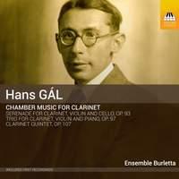 Han Gál: Chamber Music for Clarinet