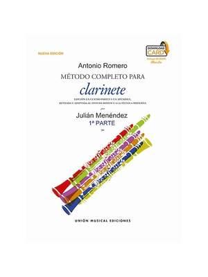 Método Completo Para Clarinete De Antonio Romero