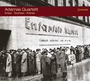 Krasa, Tansman & Krenek: String Quartets