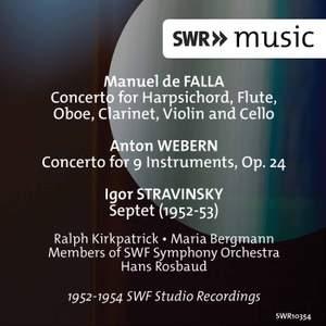 Falla, Stravinsky & Webern