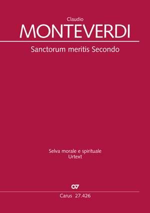 Claudio Monteverdi: Sanctorum meritis Secondo SV278