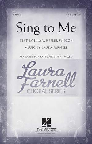 Laura Farnell: Sing to Me
