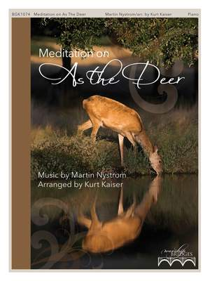 Meditation on As the Deer Product Image