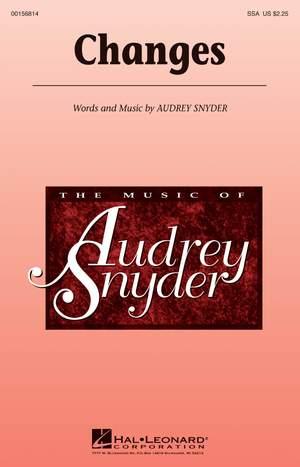 Audrey Snyder: Changes