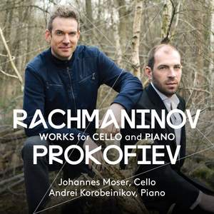 Rachmaninoff & Prokofiev: Works for Cello & Piano