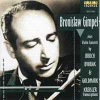 Bruch, Dvořák, Goldmark: Violin Concertos