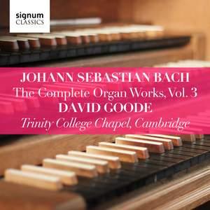 Johann Sebastian Bach: The Complete Organ Works Vol. 3 Product Image