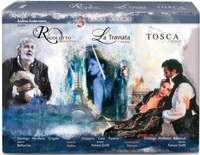Verdi/Puccini: 3 Live Operas