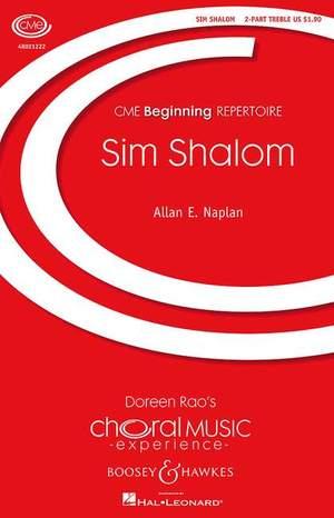 Naplan, A E: Sim Shalom