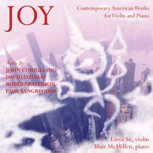 Joy: Music for Violin & Piano Product Image