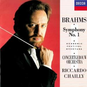 Brahms: Symphony No. 1 & Academic Festival Overture
