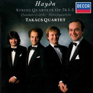 Haydn: String Quartets Op. 76 Nos. 1-3