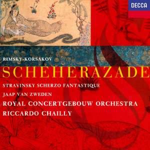 Rimsky-Korsakov: Scheherazade & Stravinsky: Scherzo fantastique