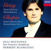 Grieg: Piano Concerto & Chopin: Piano Concerto No. 1