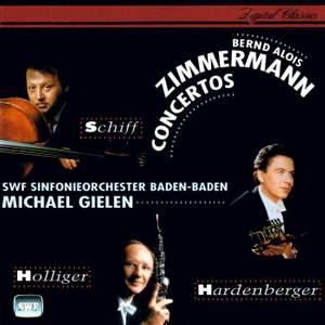 Bernd Alois Zimmermann: Cello, Oboe and Trumpet Concertos & Canto di speranza