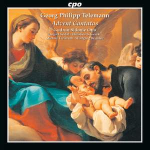 Telemann: Advent Cantatas Product Image