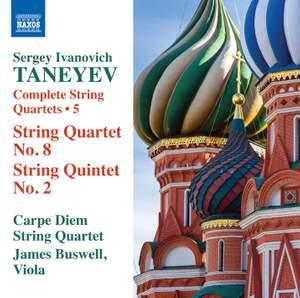 Taneyev: Complete String Quartets Volume 5