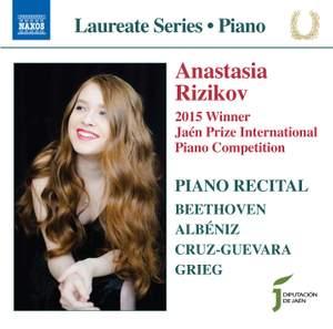 Piano Recital: Anastasia Rizikov