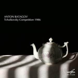 Tchaikovsky Competition 1986
