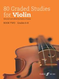80 Graded Studies for Violin - Book Two