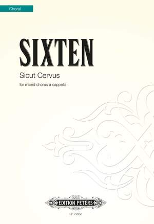 Sixten, Fredrik: Sicut Cervus