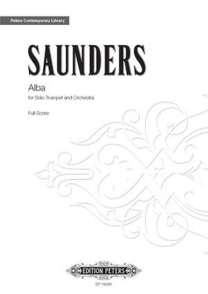 Saunders, Rebecca: Alba